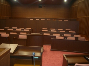 日光市の議会席