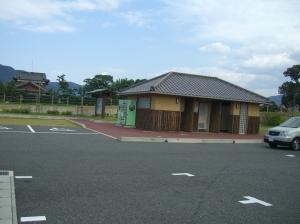 平原歴史公園内のトイレ