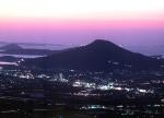 前原街夜景 高祖山より