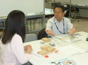 静岡県危機管理部でHUGの説明を受ける
