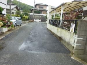 修復後の道路面の様子