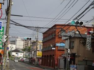 LED灯に交換された南本町2号信号機
