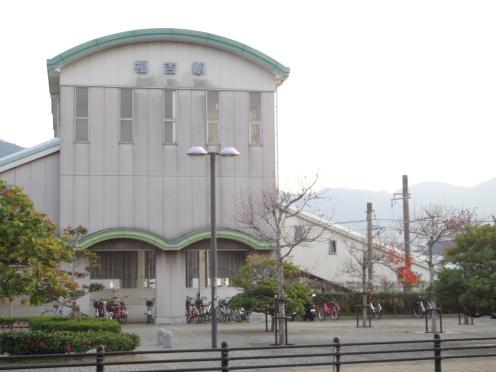 JR福吉駅(12月5日16時17分撮影)