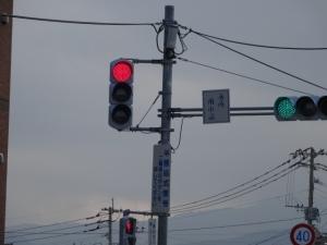 前原南小前信号(老松神社方面から見た場合)