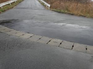 フラットになった市道(工事完了後)