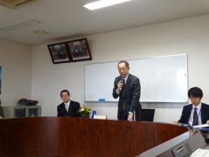 福岡財務局の支局長 長谷川 靖氏が講演