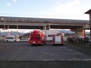 平成25年12月2日の事故現場