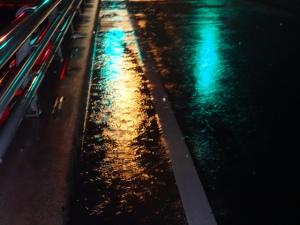 国道202号線多久川橋の状況(6月2日撮影)
