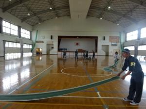 練習コースの準備(7月9日撮影)