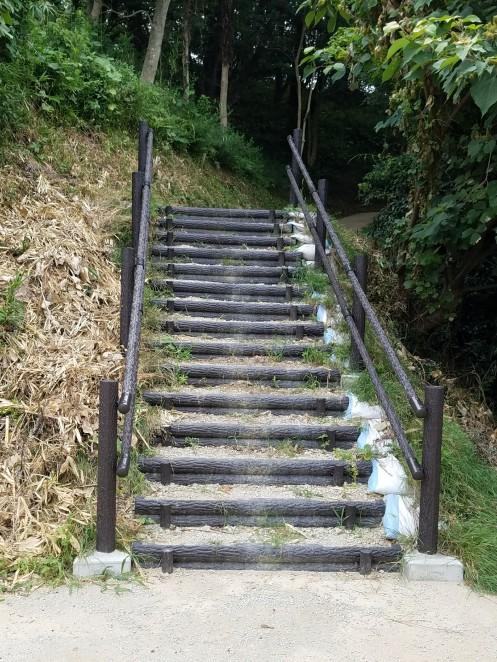 すっきりなった階段